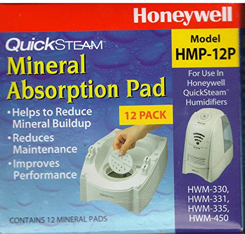 Honeywell HMP-12P QuickSteam Mineral Absorption Pad 12 Pack (Honeywell Water Pad compare prices)