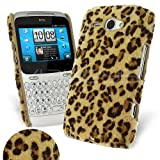Celicious Yellow Leopard Fur Back Cover Case for HTC ChaCha HTC ChaCha Case Cover