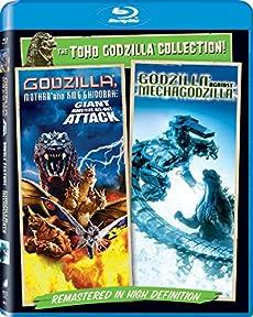 <北米版Blu-ray> 『ゴジラ・モスラ・キングギドラ 大怪獣総攻撃』『ゴジラ×メカゴジラ』(2作品セット)
