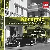 Korngold: Symphony, Violin Concerto, Piano Trio, Arias (2008) Audio CD