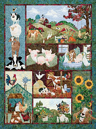 Back on the Farm, A 500 Piece Jigsaw Puzzle By Cobble Hill