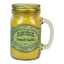 French Vanilla Scented Jar-Candle