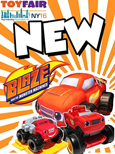 BLAZE AND THE MONSTER MACHINES + New Blaze Track & Blaze Racers and Transforming Blaze with AJ Video
