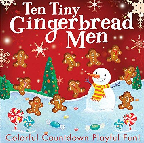 Ten Tiny Gingerbread Men