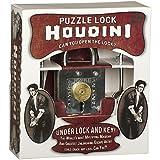 Houdini Under Lock - Metal Trick Lock Puzzle Brain Teaser