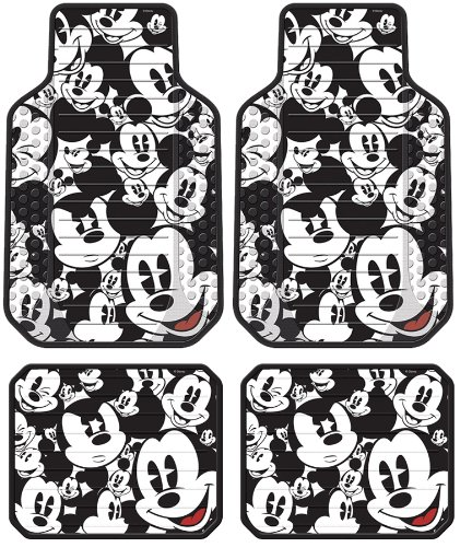 mickey mouse classic expressions faces front rear car. Black Bedroom Furniture Sets. Home Design Ideas