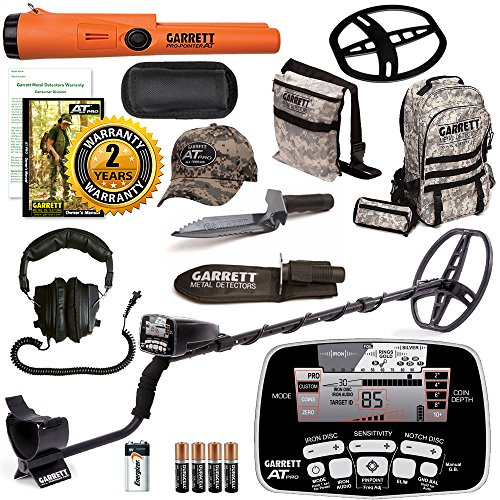 Review Garrett AT Pro Metal Detector Bonus Pack with ProPointer AT and Edge Digger