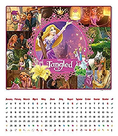837 Piece Jigsaw Puzzle PAZUKARE Tangled Rapunzel story disney