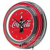 Trademark Gameroom 100th Anniversary of the Coca-Cola Bottle Retro Neon Clock