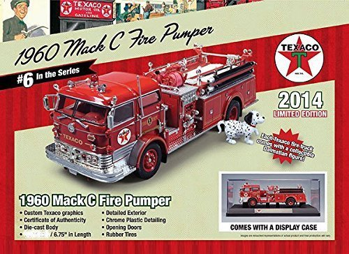 1960-mack-c-fire-pumper-truck-texaco-2014-series-6-limited-edition-with-dalmation-and-display-case-1
