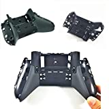 New Replacement Back Bottom Shell Case Cover Part for Xbox One Elite Controller. (Color: Black)