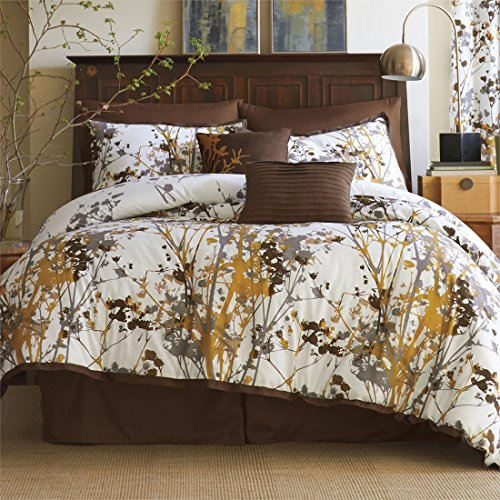 Brylanehome Funky Floral Oversized Multi Pc Comforter Set