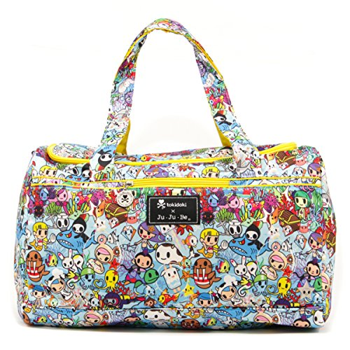Ju-Ju-Be Tokidoki Collection Super Star Large Travel Duffel Bag, Sea Amo - 1