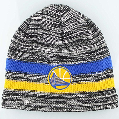 Mitchell & Ness Golden State Warriors Static Team Stripe NBA berretto invernale