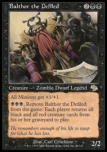 Magic: the Gathering - Balthor the Defiled - Balthor il Corrotto - Judgment