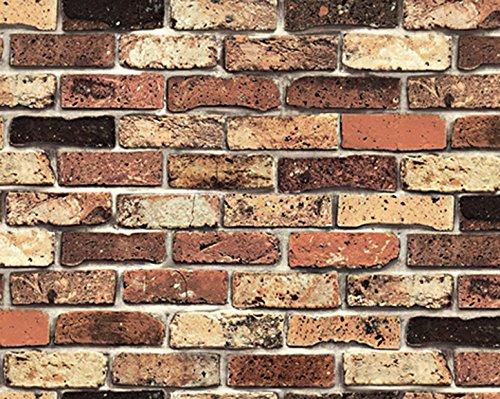 Selbstklebende Tapete Obi : Brick Pattern Contact Paper