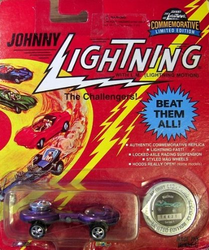 johnny lightning purple nucleon the challengers commemorative limited edition 1995