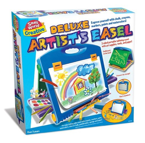 Small World Creative Deluxe Artist's Easel