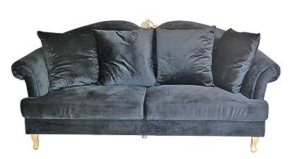 Sofa Paris Grande schwarz