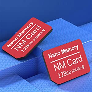 Nano 128GB Memory Card 90MB/S Nano Memory Card Mirco SD Card Compact Flash Card, only Suitable for Huawei P30\P30pro and Mate20 Series,Nm Card 128GB