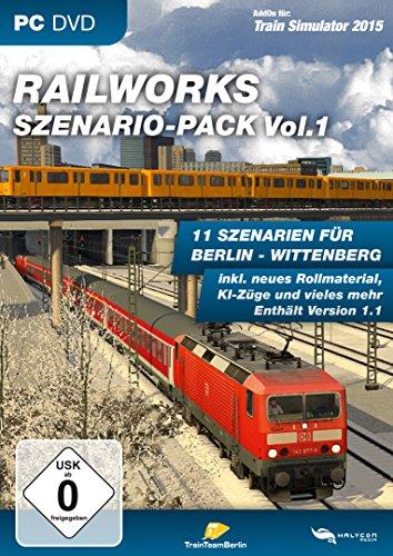 Train Simulator 2015 - Railworks Scenery Pack Vol. 1 (German) (PC)