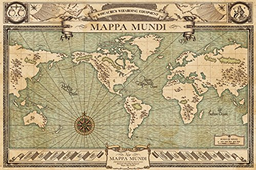 fantastic-beasts-and-where-to-find-them-maxi-poster-61-x-915-cm-mappa-mundi-plastifie