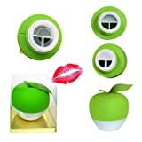 Sexy Full Best Lip Plumper Device Enhancer (GEL Mouth Cover Included) Hot Sexy Mouth Beauty Lip Pump Enhancement 2017 New Style, Pump Device Quick Lip Plumper Enhancer (Green) (Color: Green)