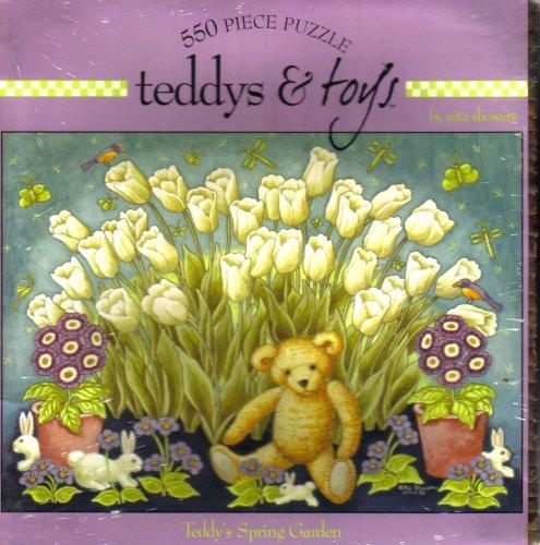 teddys & toys - Teddy's Spring Garden by Nita Showers (In Basket)