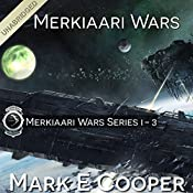 Merkiaari Wars Series: Books 1-3 | Mark E. Cooper