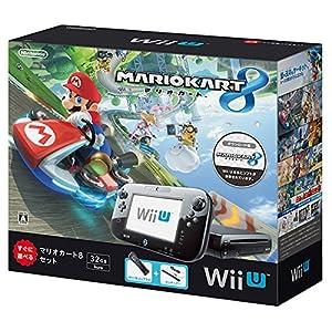 【数量限定】Wii U マリオカート8 セット クロ