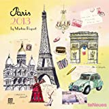 TeNeues 2013 Paris Martine Rupert Grid Calendar