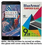 #8: BlueArmor Premium HD Clear Tempered Glass Screen Guard Protector for OnePlus 3 One Plus Three / Oneplus 3T / One plus 3T