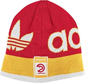 NBA Officially Licensed Atlanta Hawks Embroidered Logo Beanie Hat Cap Lid by NBA