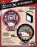 【TVアニメ】 ONE PIECE ワンピース×ハローキティ ムービングクロック (ハローキティVer) ピンク
