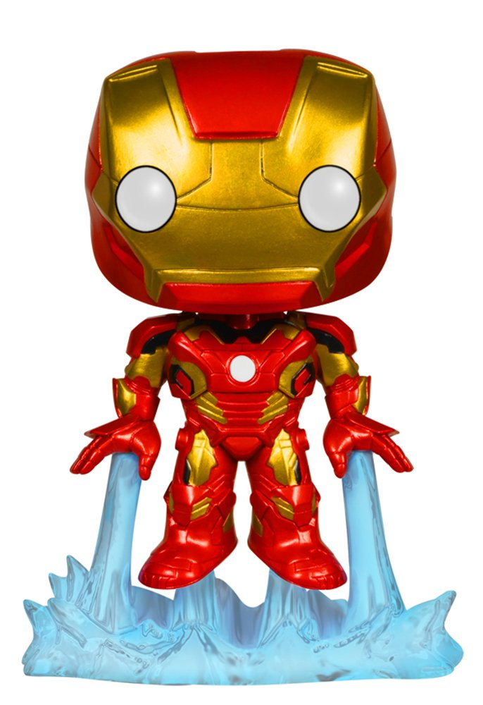 Funko Marvel: Avengers 2 - Iron Man Bobble Head Action Figure cogo building blocks intelligence toy 8 count