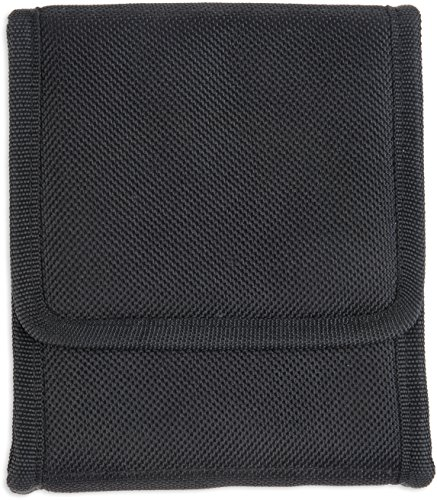 "Bulldog Cases ""Vertical"" Cell Phone Holster with Belt Loop and Clip fits Compact 9mm Ruger LC-9, Black Nylon"