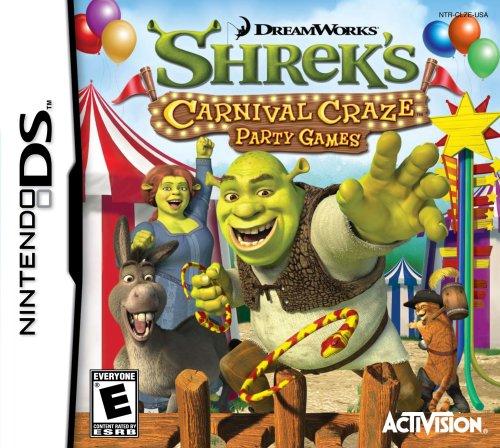 Shrek's Carnival Craze - Nintendo DS - 1