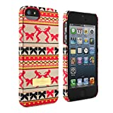 Ted Baker Hard Shell Case for Apple iPhone 5/5S - Rinkle Fairisle Print