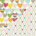 Jillibean Soup Sew Sweet Sunshine Soup Sew Original Scrapbook Paper