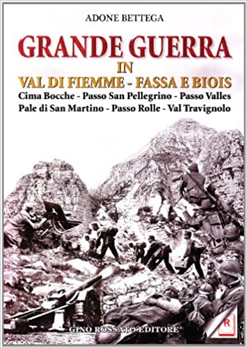Grande Guerra in Val di Fielle, Fassa e Biois