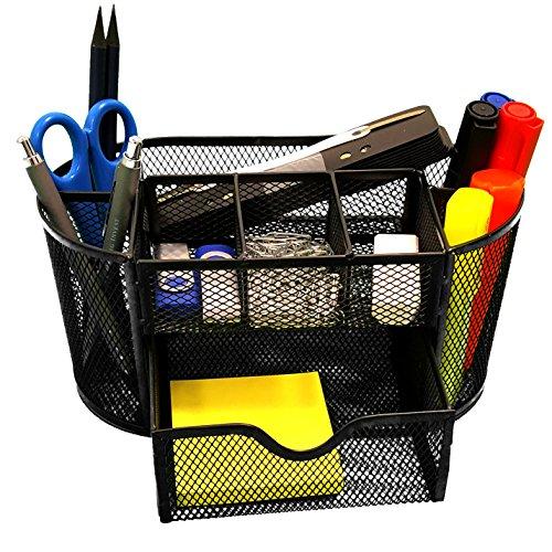 OfficeZone-Schreibtisch-Organizer-einfach-zu-bedienender-kratzfester-und-hochwertiger-Stiftekcher-zum-optimieren-Ihres-Brobedarfs