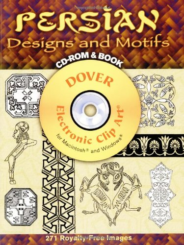 Persian designs and motifs cd rom and book dover for A treasury of persian cuisine