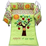 Apple of Our Eyes Crib Bedding Set - 3 Pc