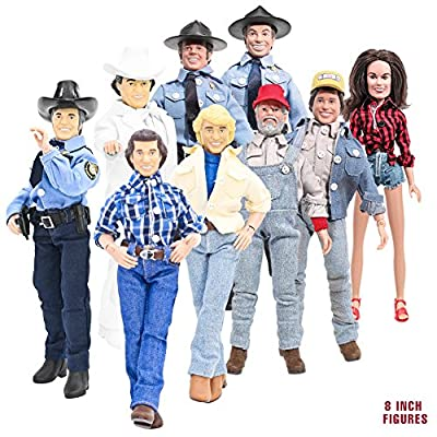 Complete Set of 9 Dukes of Hazzard 8 Inch Action Figures: Series 1 & 2 (Loose)