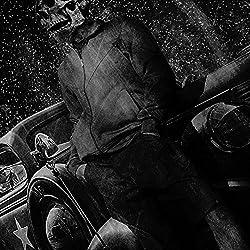 Skull Costume Body Mens Zombie Art Black Sleeveless T-shirt S-2XL   Wellcoda