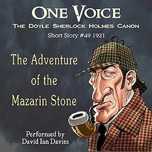 The Adventure of the Mazarin Stone Audiobook
