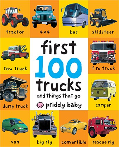 First 100 Trucks (Toddler Truck Books compare prices)