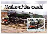 Tren sellos para coleccionistas - Trenes del mundo - 1 de estampillas de colección con los trenes - Ideal para la recogida - excelentes condiciones - Mint NH