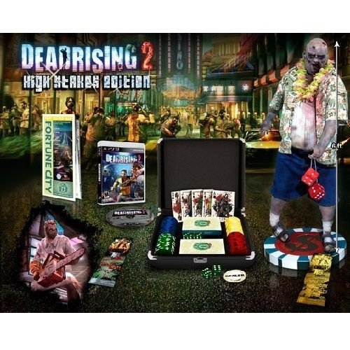 Dead Rising 2 High Stakes Edition with Poker Cards, Chips, Dice, Dealer Chip & more