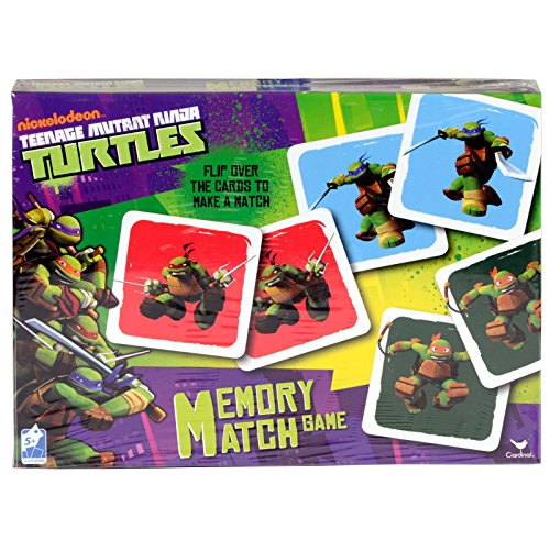 Teenage Mutant Ninja Turtles Memory Match Game - 1